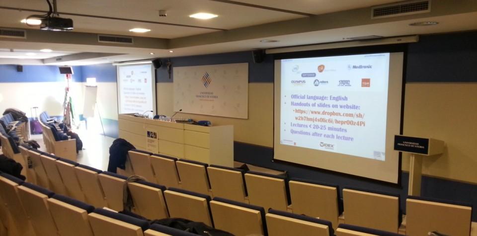 Sala de Grados Universidad Franciso de Vitoria